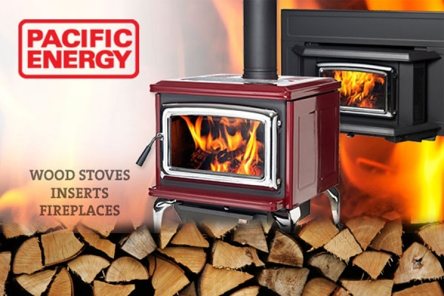 Pacific Energy Wood Stoves Inserts Fuel Flame